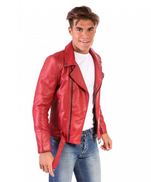 chiodo-in-pelle-uomo-modello-biker-chiodo-con-cerniera-trasversale-colore-rosso-perfecto (4)