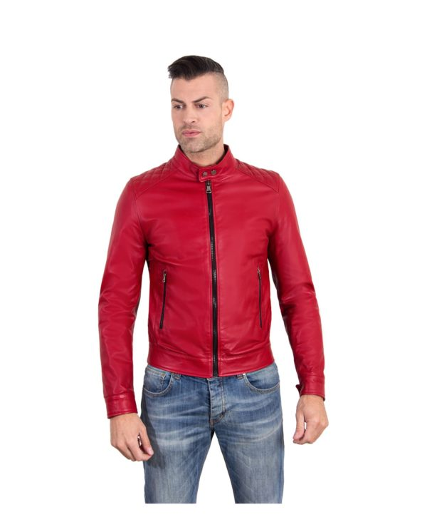 emiliany-trap-red-color-nappa-lamb-quilted-leather-biker-jacket