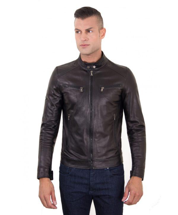 men-s-leather-jacket-genuine-soft-leather-biker-mao-collar-mao-black-color-hamilton