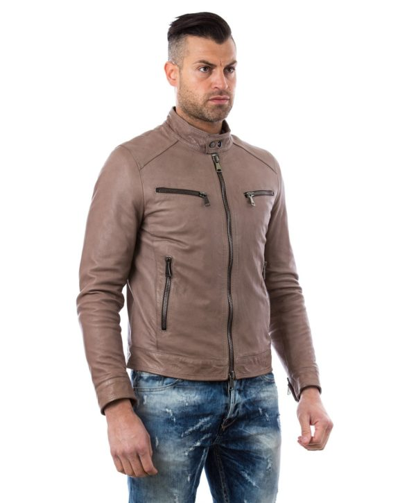 men-s-leather-jacket-genuine-soft-leather-biker-style-collar-mao-gray-color-hamilton (2)