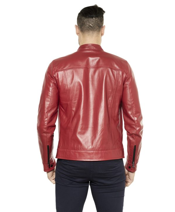 men-s-leather-jacket-genuine-soft-leather-biker-style-collar-mao-red-color-hamilton (4)