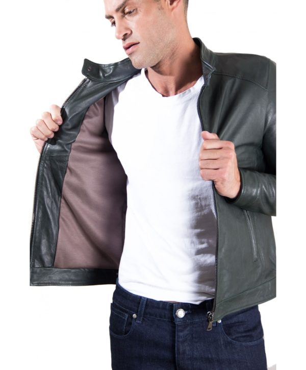 men-s-leather-jacket-korean-collar-two-pockets-green-color-hamilton (3)