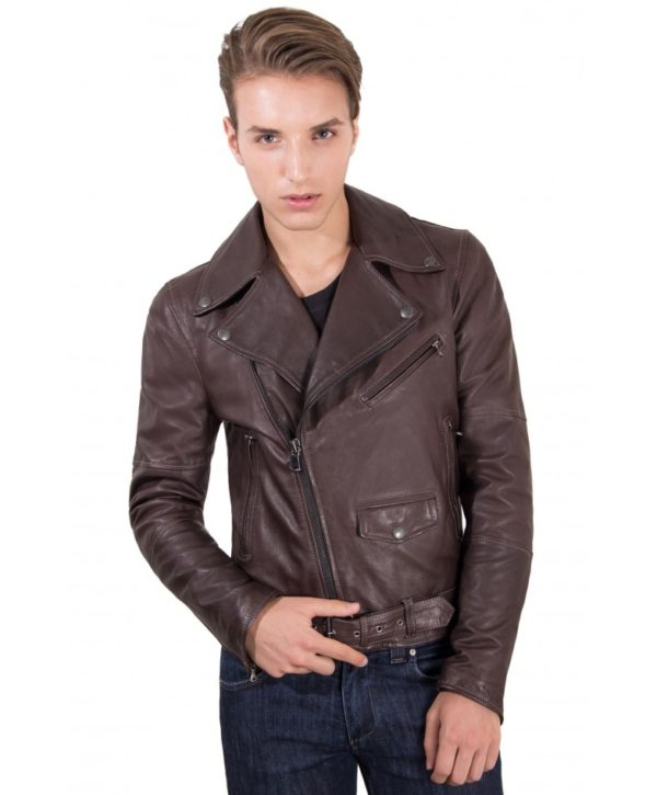 men-s-leather-jacket-perfecto-genuine-soft-leather-biker-cross-zip-brown-color-chiodo-perfecto