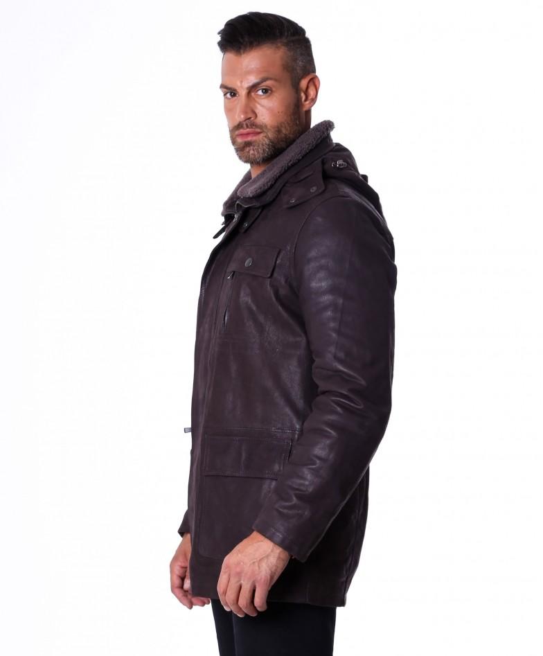 men-s-long-leather-coat-genuine-soft-leather-five-pockets-detachable-hood-dark-brown-color-vittorio (3)