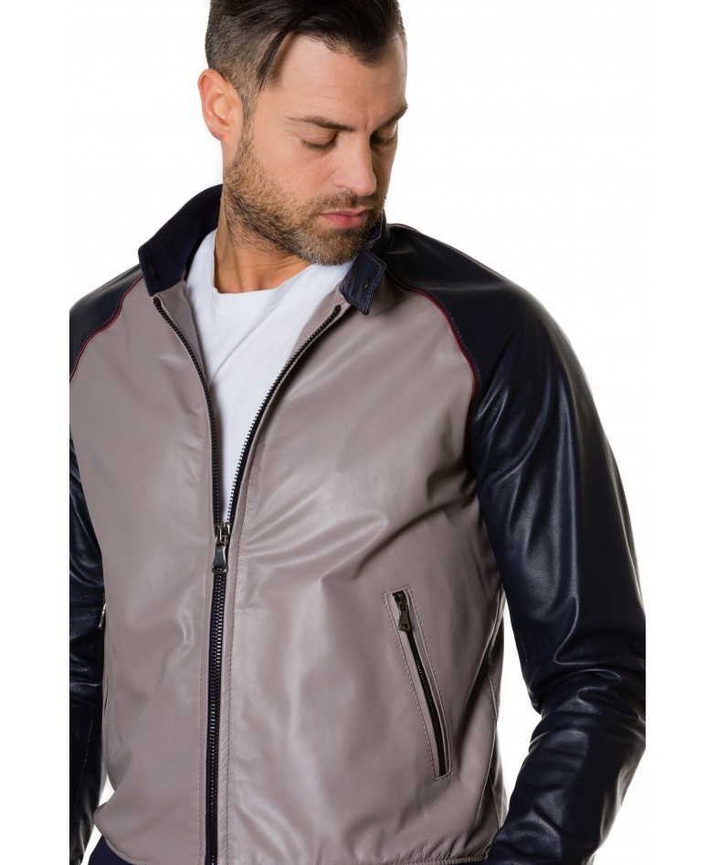1066-greyblue-colour-leather-bomber-jacket-smooth-aspect (1)