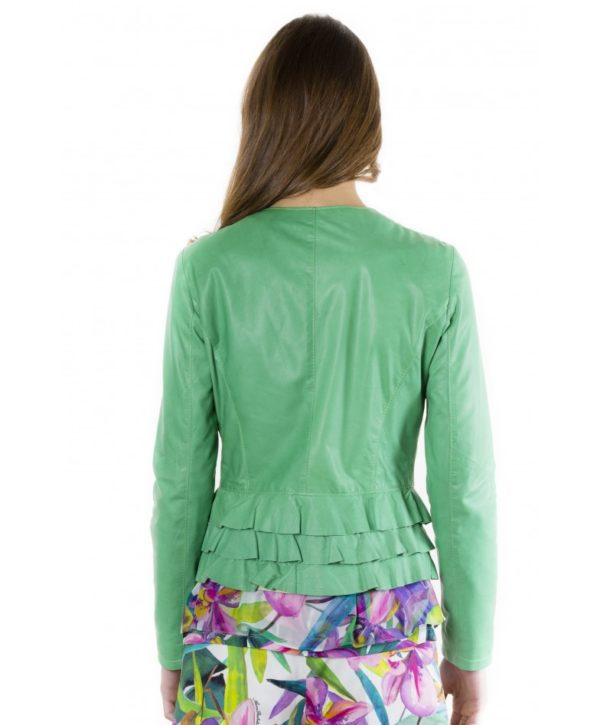 f105bl-green-color-lamb-leather-jacket-with-flounces (3)