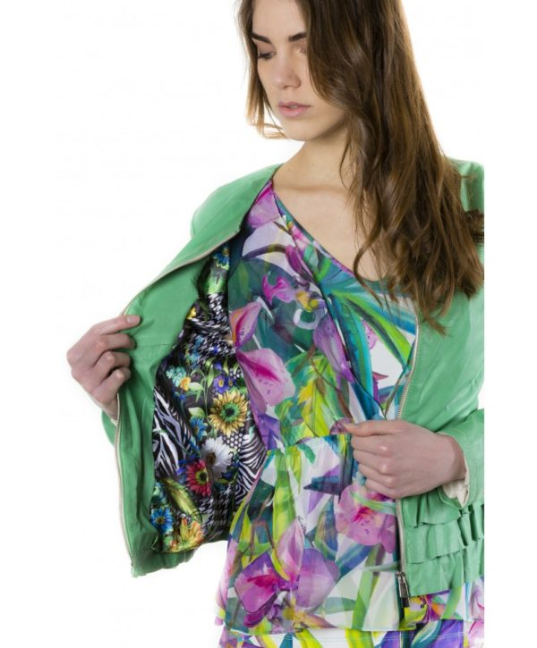f105bl-green-color-lamb-leather-jacket-with-flounces