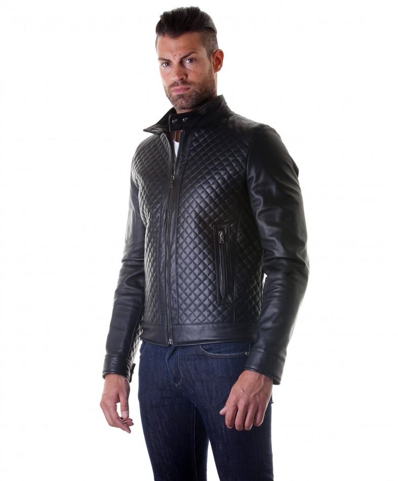 giacca-in-pelle-da-uomo-vera-pelle-nappa-modello-biker-collo-mao-trapuntato-colore-nero-modemiliany-rombi (2)