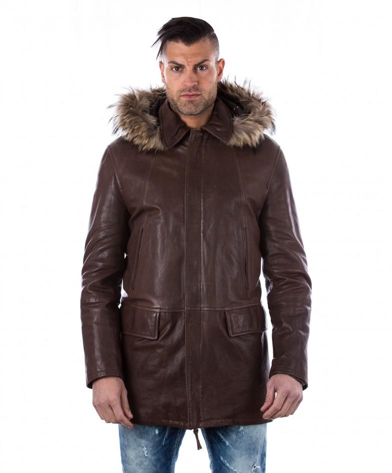 man-leather-coat-fox-fur-hood-black-marco