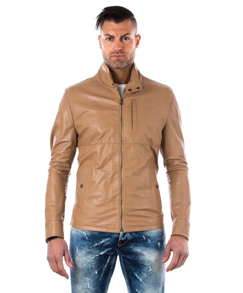 men-s-leather-jacket-central-zip-and-buttons-pockets-regular-fit-davide-beige-