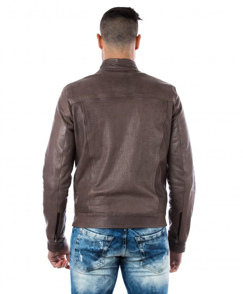 men-s-leather-jacket-genuine-crocodile-effect-soft-leather-biker-style-collar-mao-grey-color-hamilton (4)