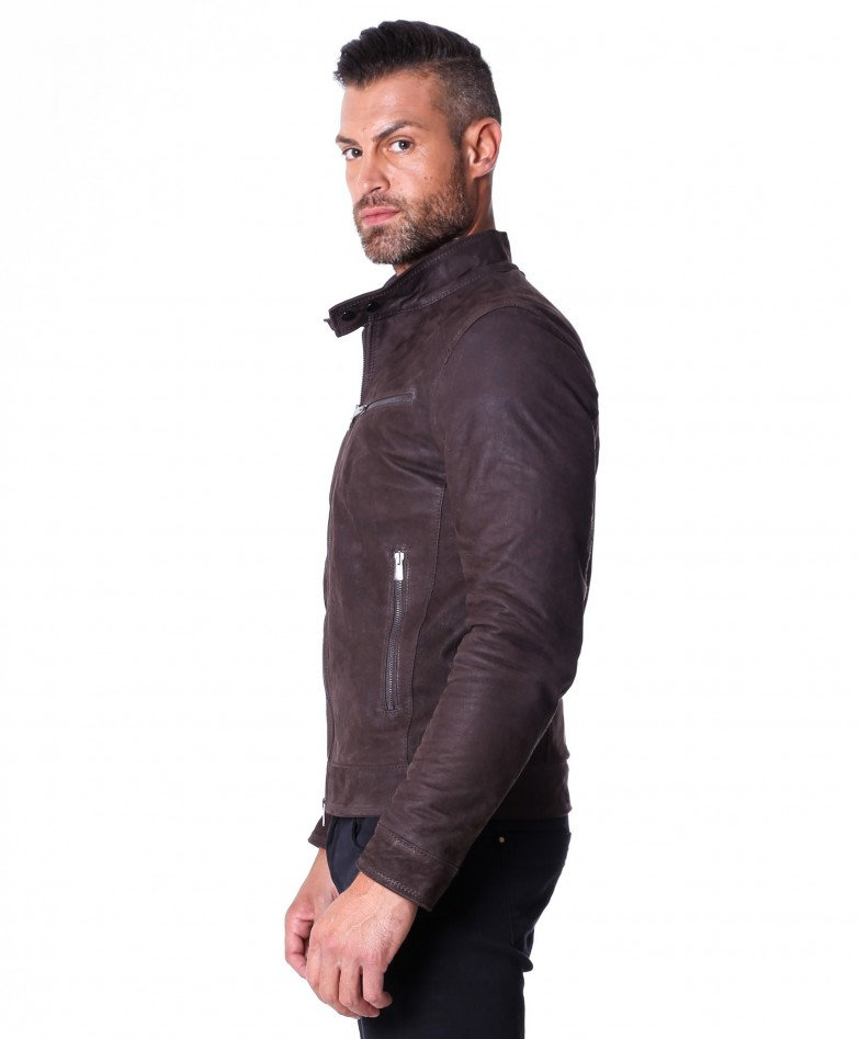 men-s-leather-jacket-genuine-nabuk-soft-leather-biker-style-collar-mao-dark-brown-color-hamilton (4)