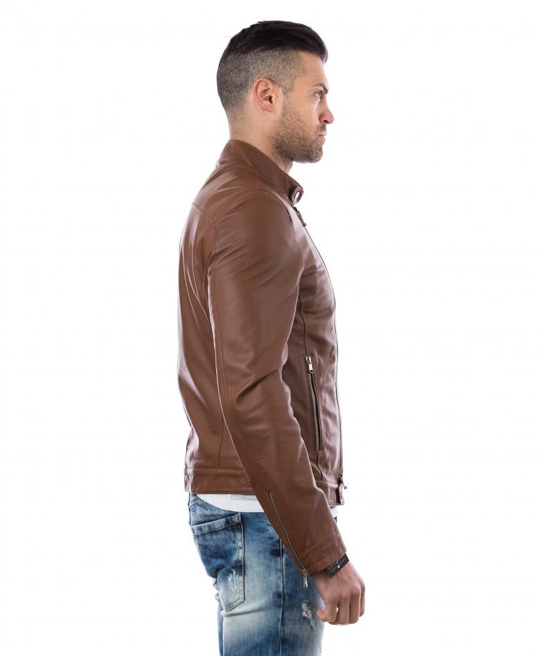 men-s-leather-jacket-genuine-soft-leather-biker-mao-collar-cross-zip-tan-color-mod-raniero-chiodo (3)