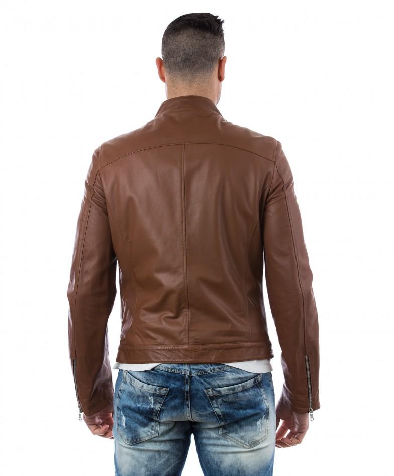men-s-leather-jacket-genuine-soft-leather-biker-mao-collar-cross-zip-tan-color-mod-raniero-chiodo (4)