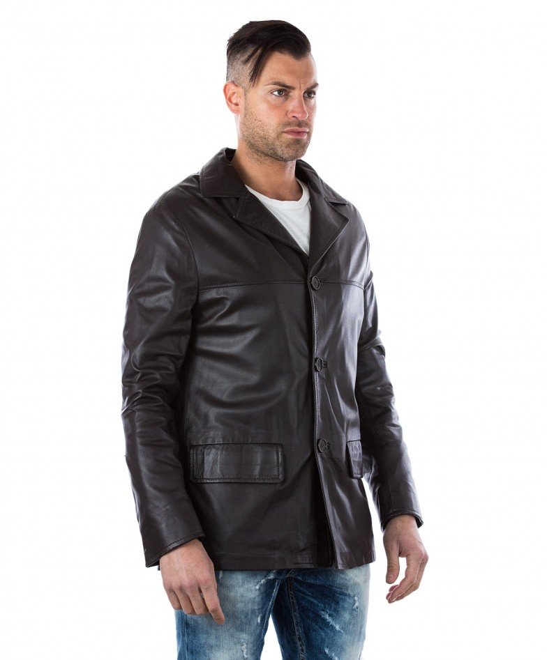 men-s-leather-jacket-genuine-soft-leather-blazer-collar-3-buttons-blue-color-mod-555 (1)
