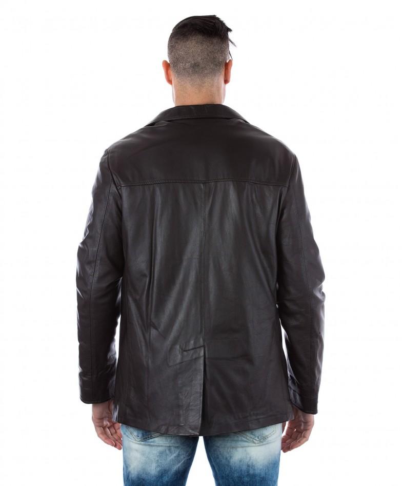 men-s-leather-jacket-genuine-soft-leather-blazer-collar-3-buttons-blue-color-mod-555 (3)