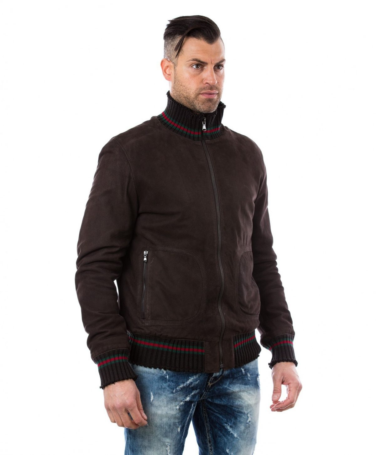 men-s-leather-jacket-genuine-soft-leather-nabuk-style-bomber-wool-cuffs-and-bottom-central-zip-dark-brown-color-mod-vito (1)