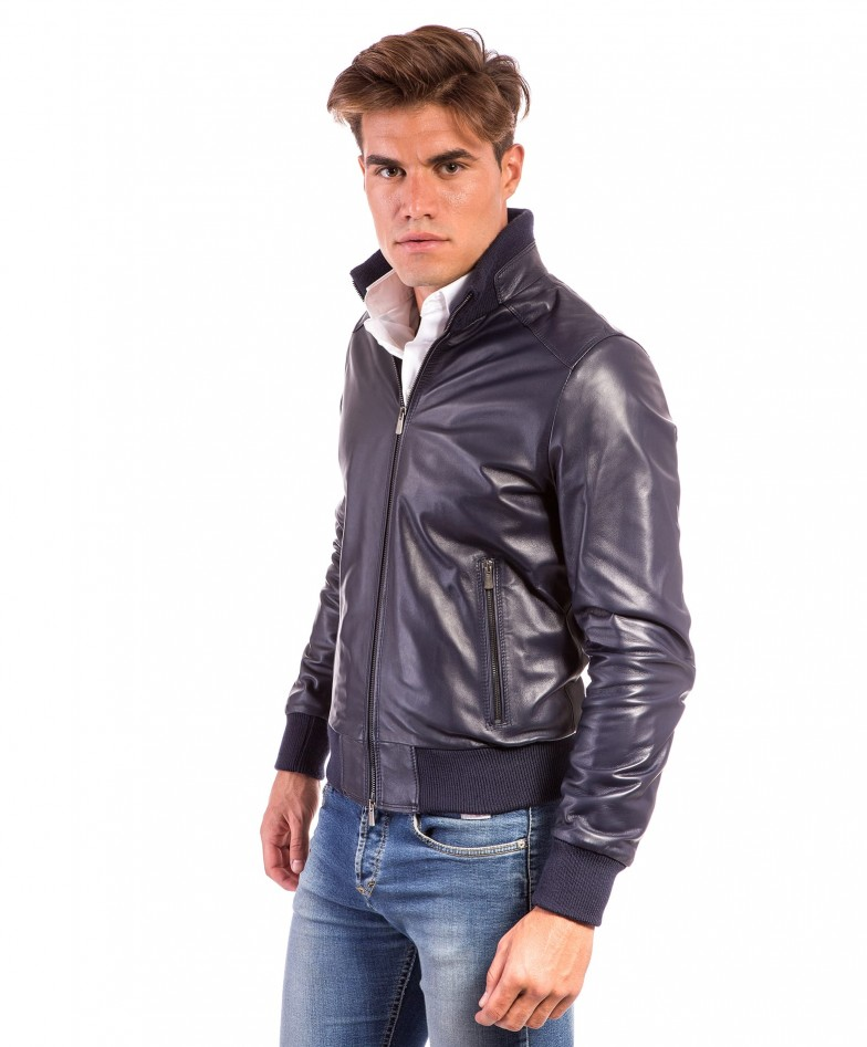 men-s-leather-jacket-genuine-soft-leather-style-bomber-central-zip-light-blue-color-bomber (2)