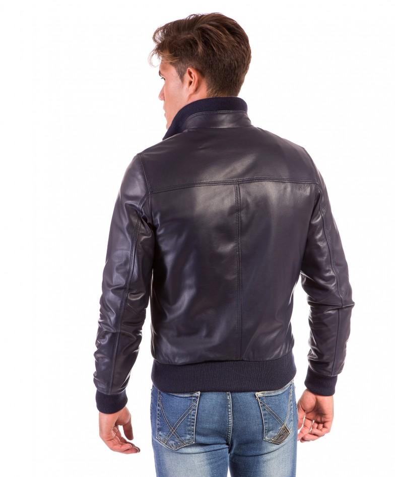men-s-leather-jacket-genuine-soft-leather-style-bomber-central-zip-light-blue-color-bomber (3)
