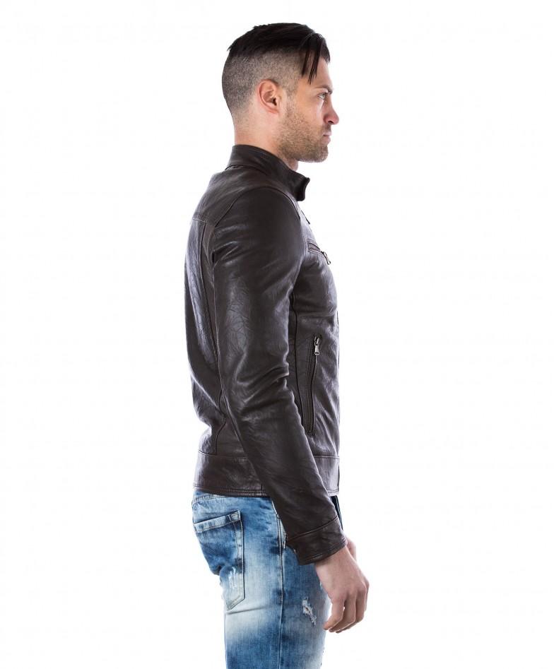 men-s-leather-jacket-genuine-wizened-soft-leather-biker-style-collar-mao-dark-brown-color-hamilton (3)