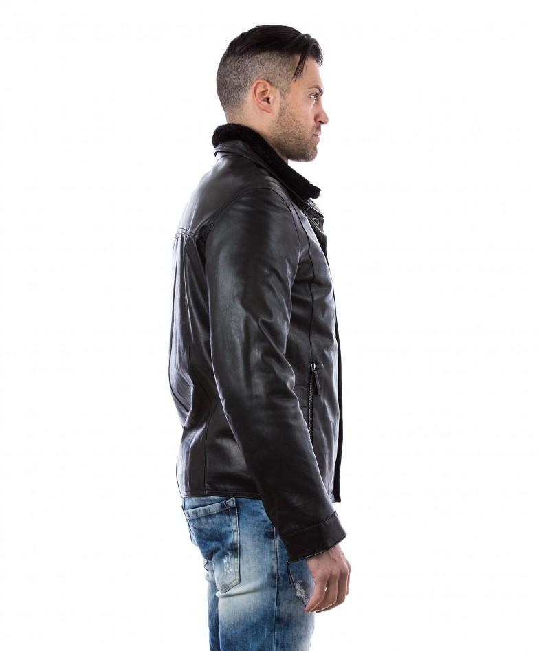 men-s-leather-jacket-mink-fur-collar-central-zip-and-buttons-pockets-regular-fit-davide-black (3)