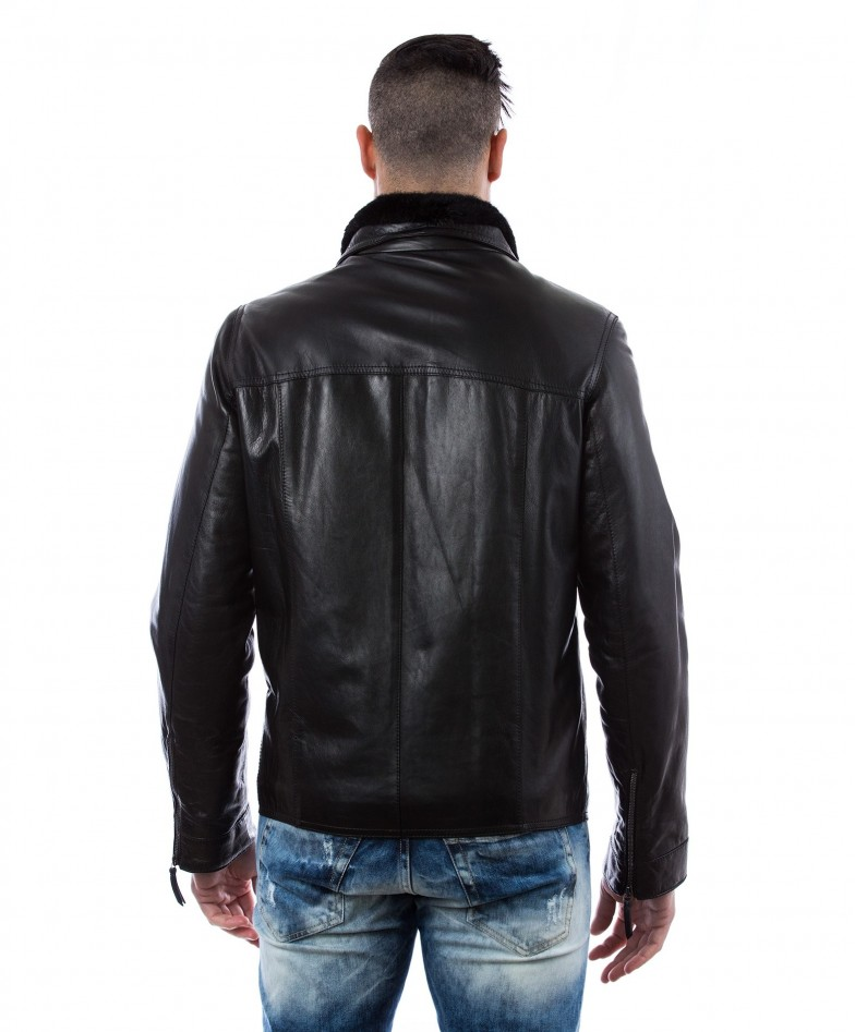 men-s-leather-jacket-mink-fur-collar-central-zip-and-buttons-pockets-regular-fit-davide-black (4)
